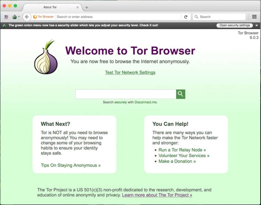 tor browser security