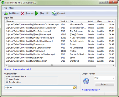 free download software converter mp4 to mp3