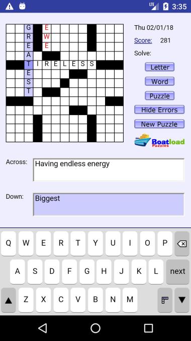 Boatload of Crosswords
