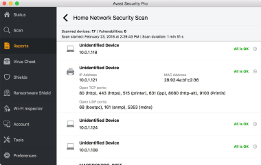 Avast Mac Security
