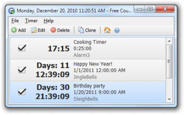 Download Free Countdown Timer For Windows Free 4 0 1