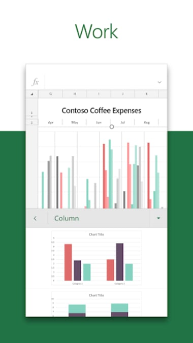 Microsoft Excel: View Edit  Create Spreadsheets