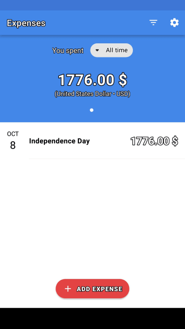 Expenses: Simple Tracker