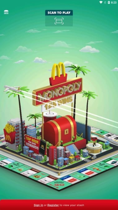 Monopoly at Macca's