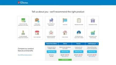 TurboTax Online Tax Return App
