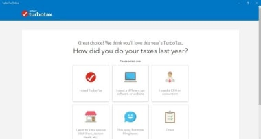 TurboTax Online Tax Return App
