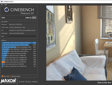 Download Cinebench for Windows - Free - r20