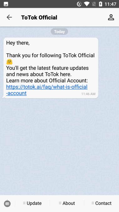 ToTok - Free HD Video  Voice Calls