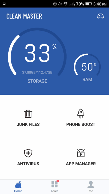 Clean Master - Antivirus, Applock & Cleaner