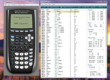 WabbitEmu TI Calculator Emulator