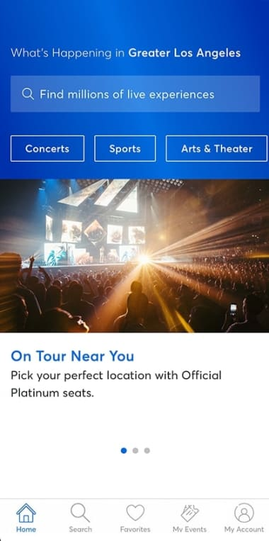 Ticketmaster: Buy and Sell Tickets