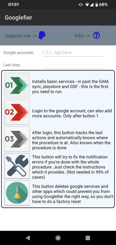 Googlefier