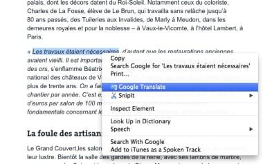 Google Translate for Chrome