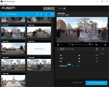 GoPro Fusion Studio