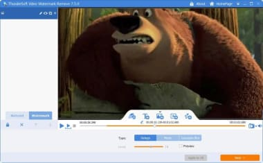 ThunderSoft Video Watermark Remove