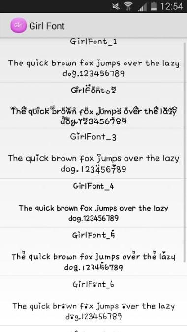 Flipfont