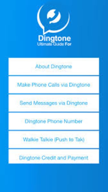 Dingtone - WiFi Phone Calls & Text Messaging App